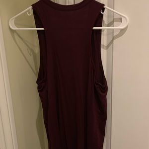 American Eagle Outfitters Tops - Maroon Tank Top American Eagle